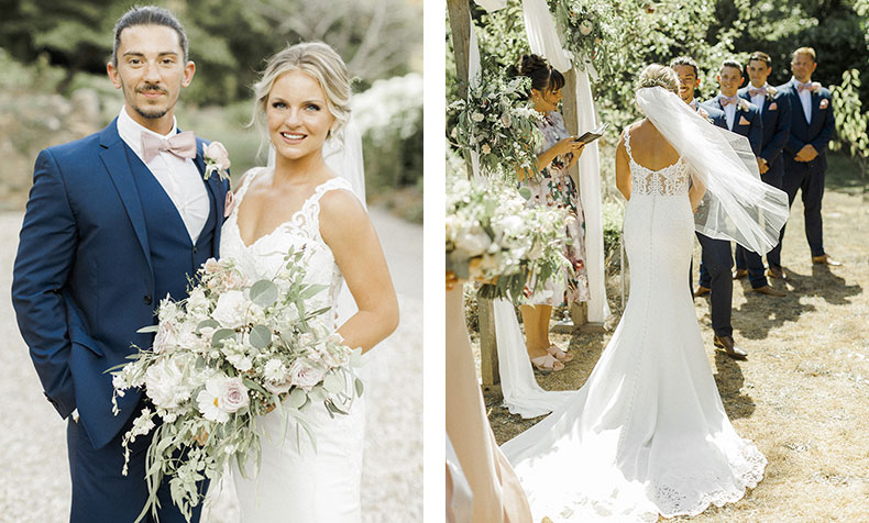 How to organise your wedding flowers from abroad