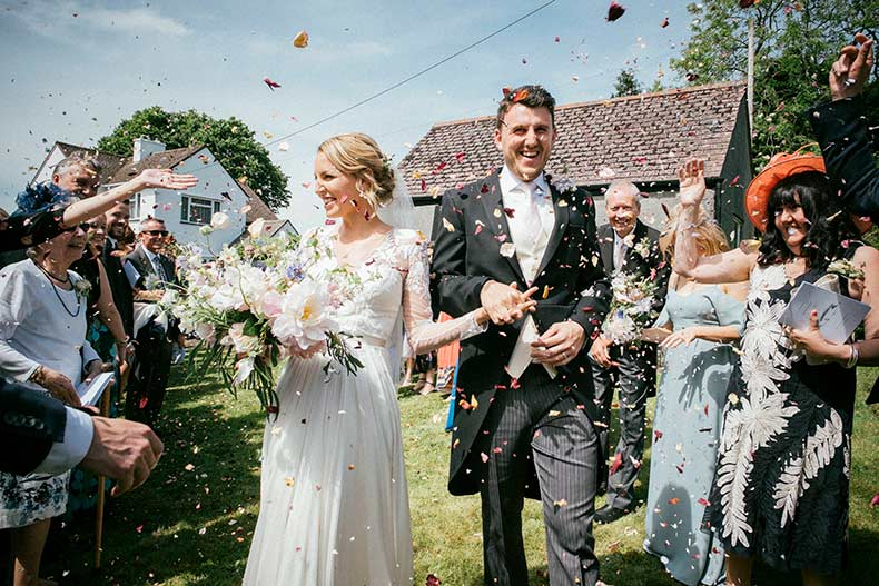 Emily and Mike client review for Dartmoor Flowers