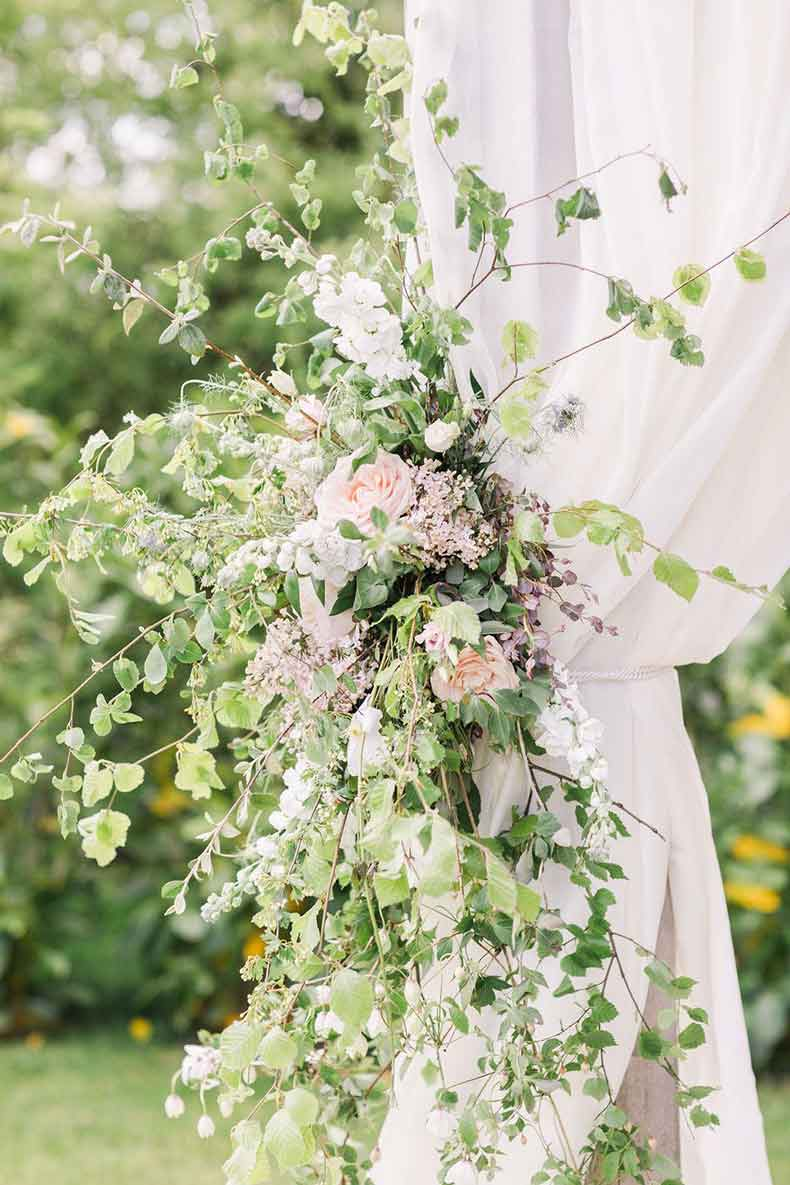 Eve and Tyrone client review for Dartmoor Flowers