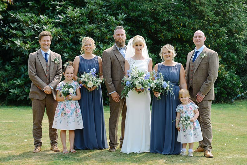 Hannah and John client review for Dartmoor Flowers