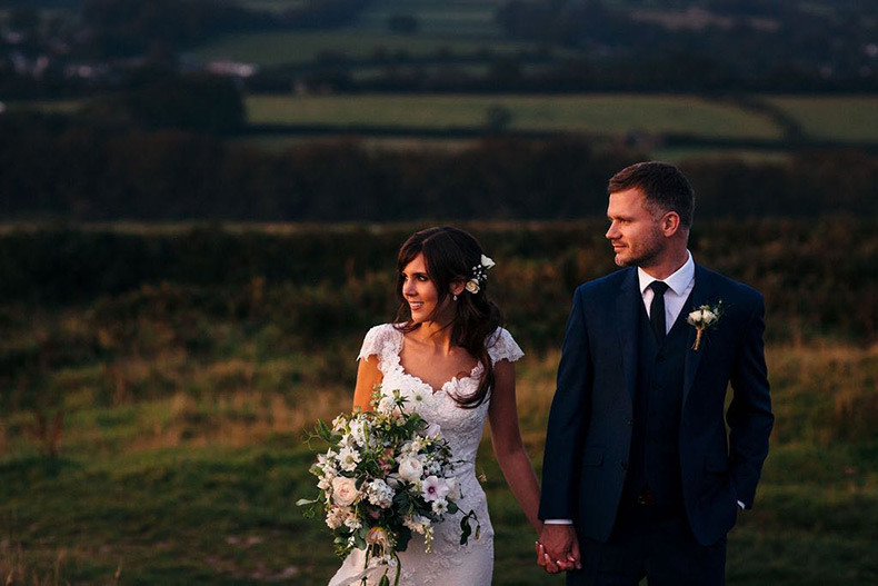 Jen and Robbie client review for Dartmoor Flowers