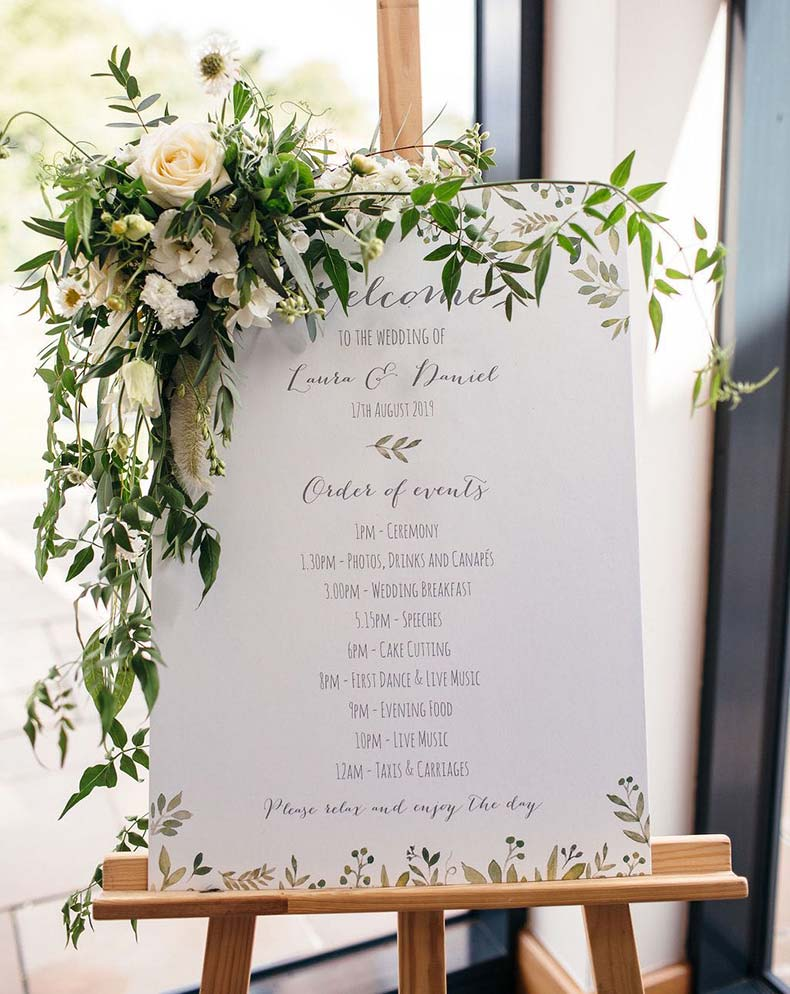 Laura and Dan client review for Dartmoor Flowers