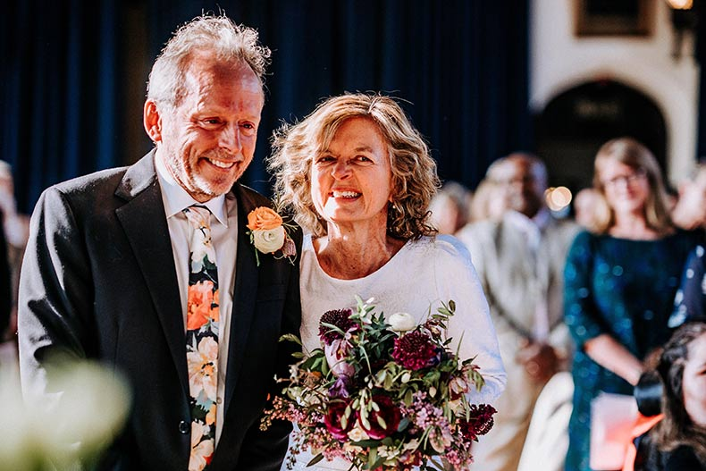 Sally and David client review for Dartmoor Flowers
